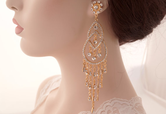 Stylish And Elegant Bridal Earrings Collection Top Pakistan