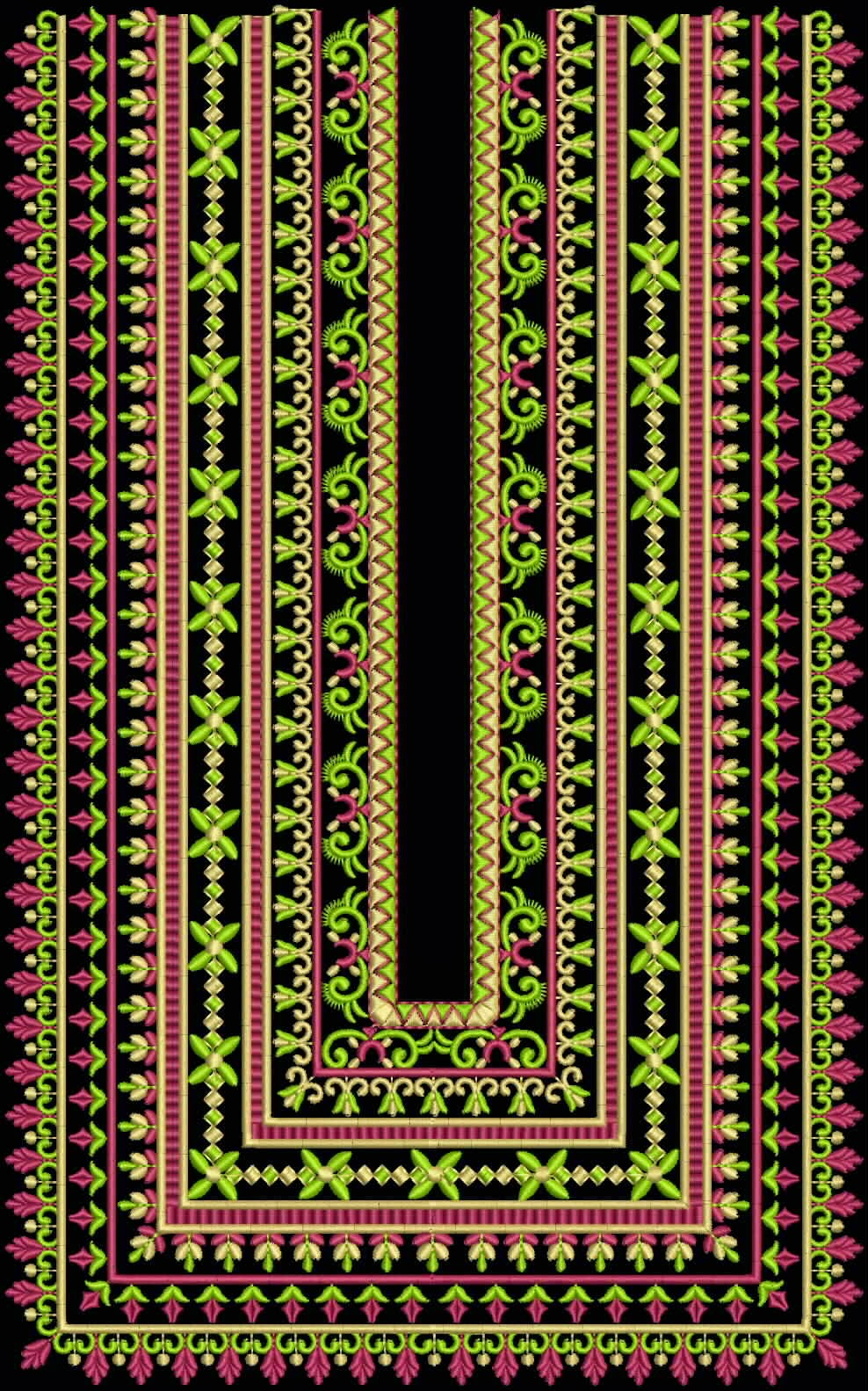 sindhi embroidery design 8