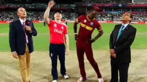 T20 World Cup Final 2016 – West Indies VS England Toss