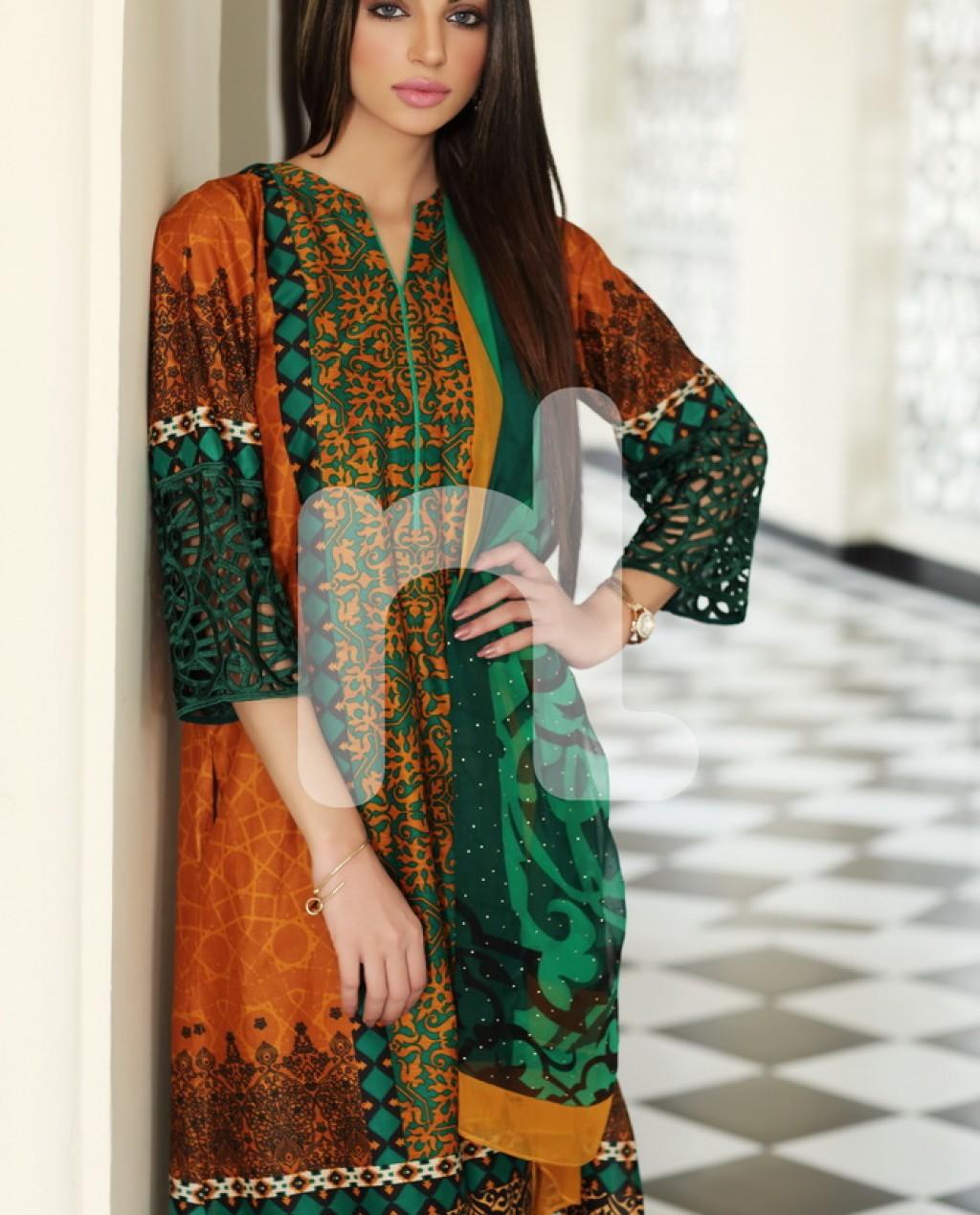 Designer Linen Dress