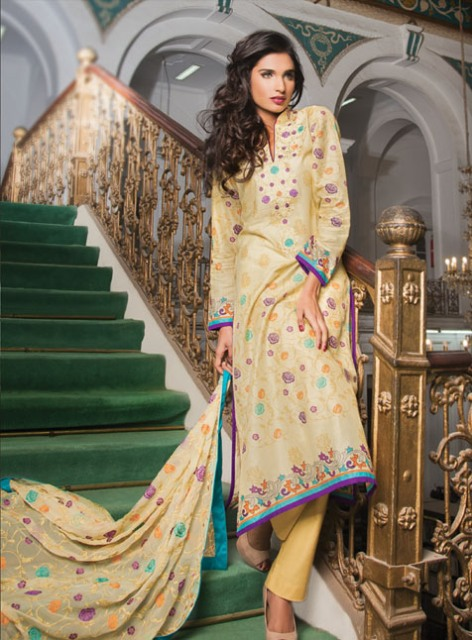 Al-Karam-Spring-Summer-Lawn-Dresses-Collection-2013-1