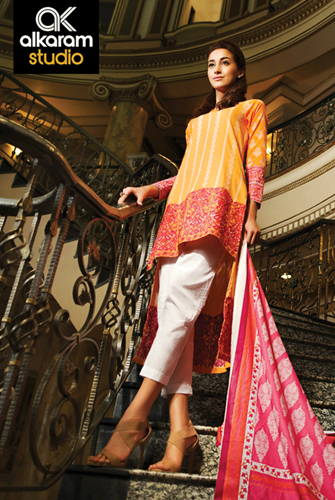 AlKaram Lawn Kaamdani Collection 2015 Vol-1 Clothing9 blog 4