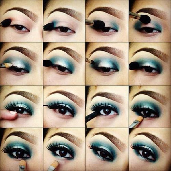 Makeup deep set eyes