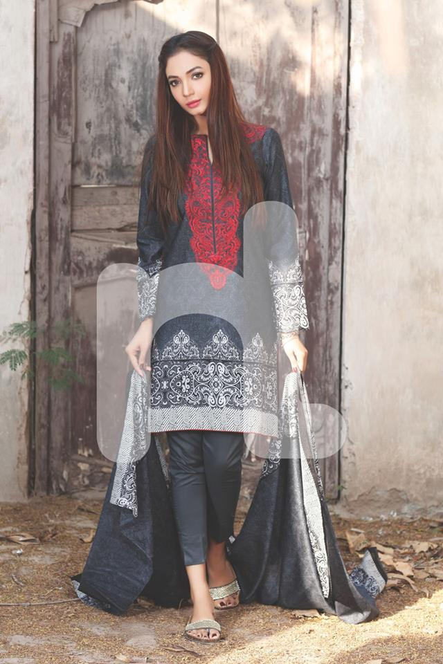 Black-dress-with-red-embroidery