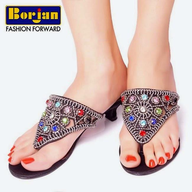 Borjan-Spring-New-Arrivals-Fancy-Shoes-Bridal-Eid-ul-Azha-Footwear-High-Heels-Collection-2014-3