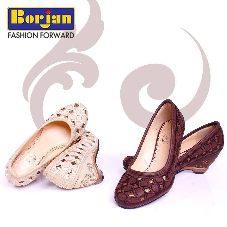Latest and Trendy Borjan Shoes Eid Collection