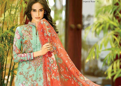 House Of Ittehad Lawn 2016 by Nilofer Shahid