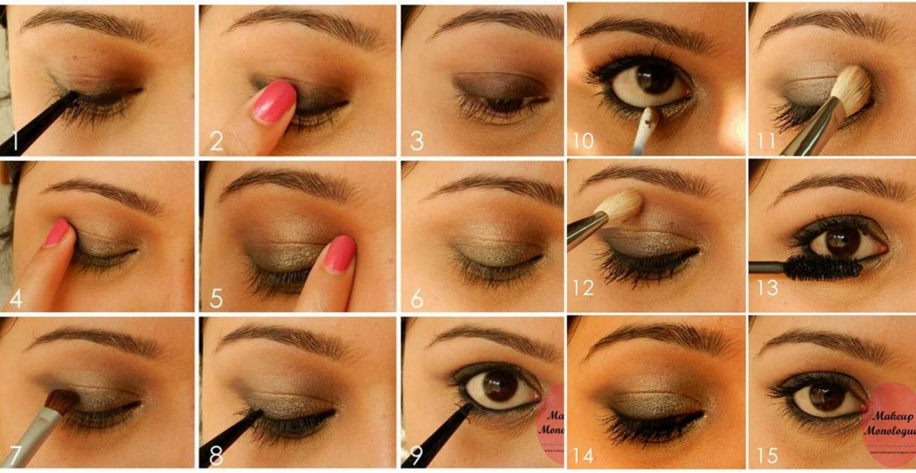 Make up for deep set eyes