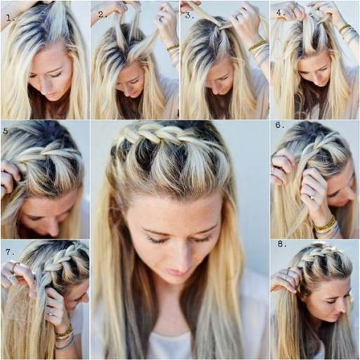 How-to-do-DIY-half-up-side-French-braid-hairstyle