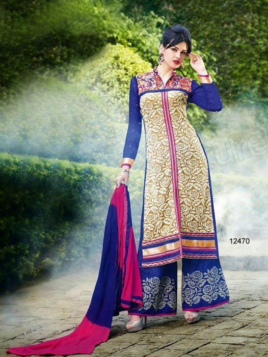 Indian-Palazzo-Design-2015-For-Girls-6