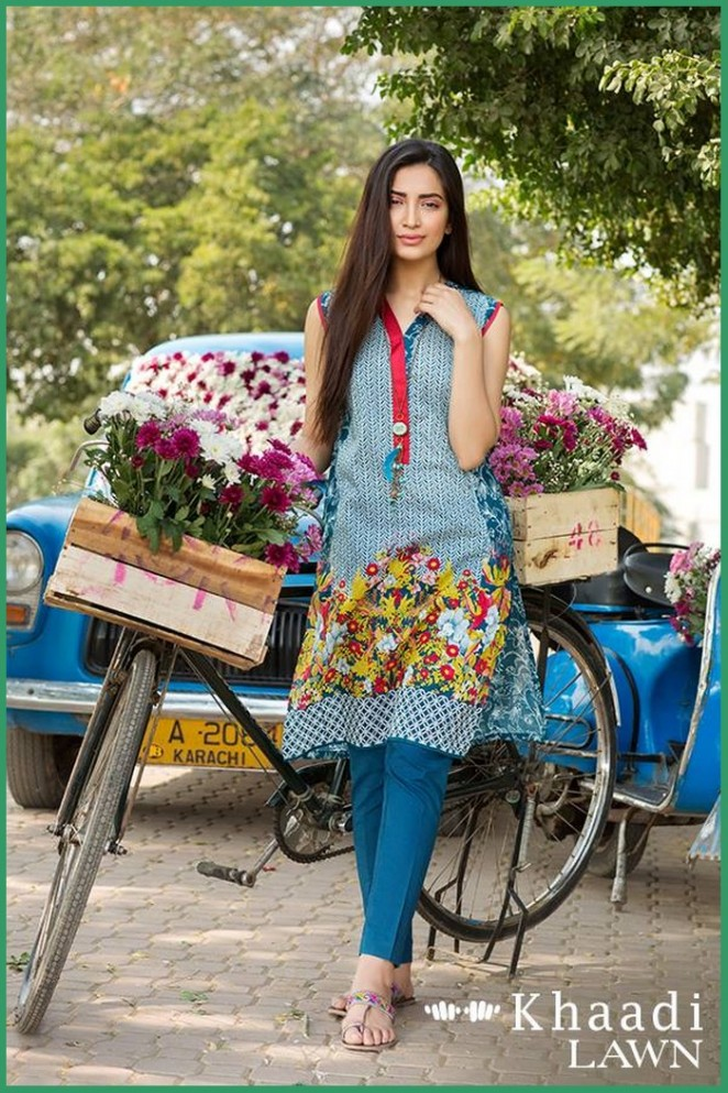 Khaadi-Lawn-2-Piece-Collection-2016-With-Price-5-662x993