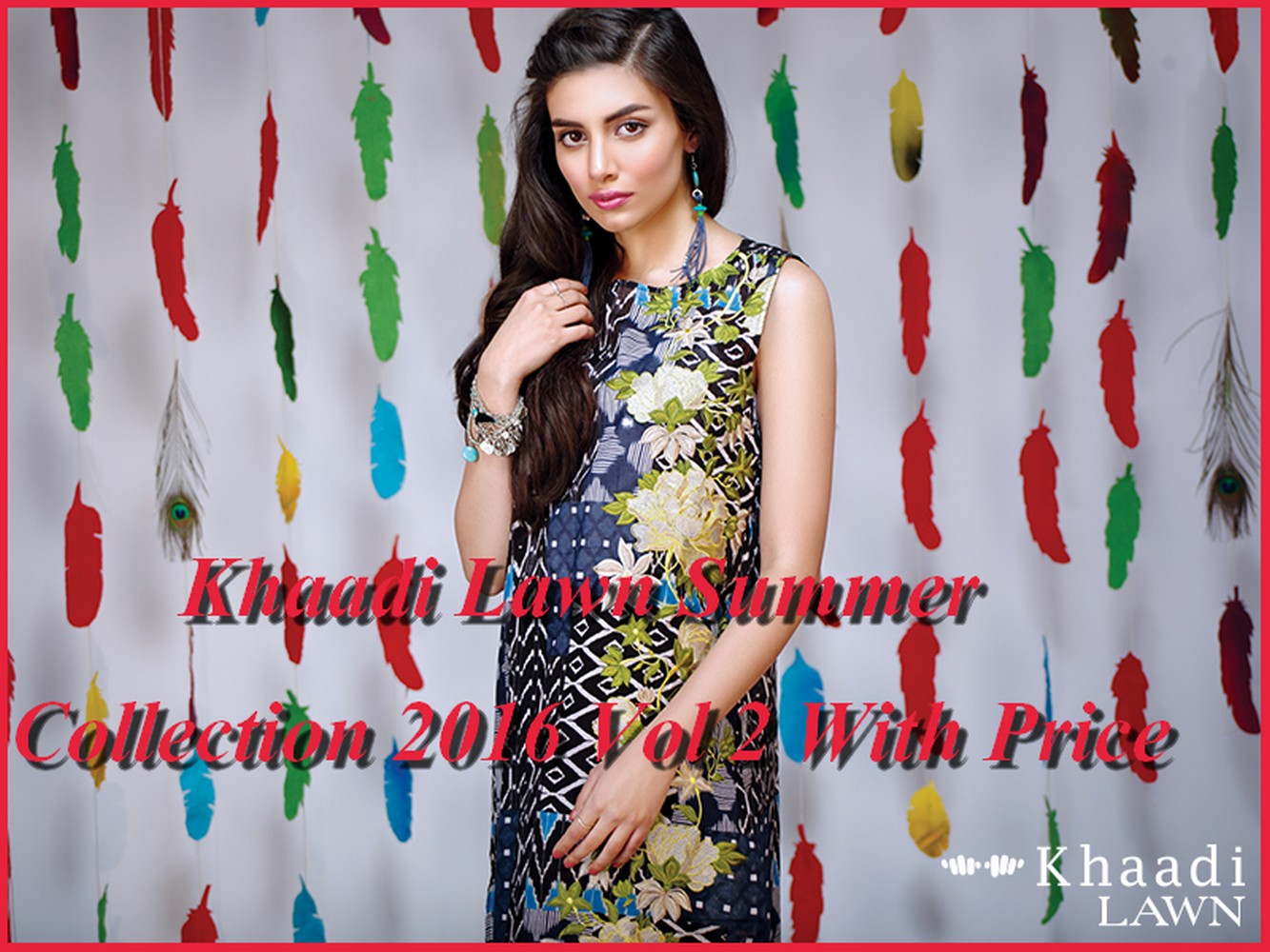 Latest Designs Khaadi Lawn 2016 Collection
