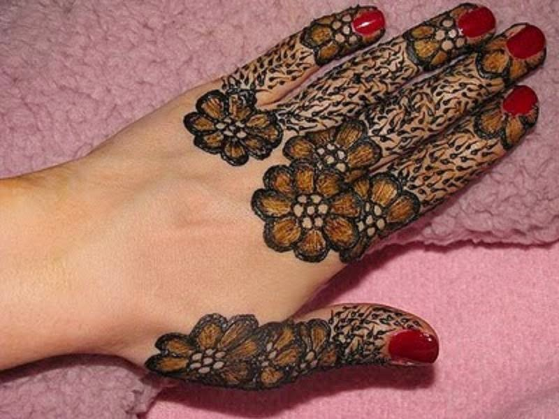 Latest Best and Beautiful Fingers Mehndi Design Wallpapers Free Download6