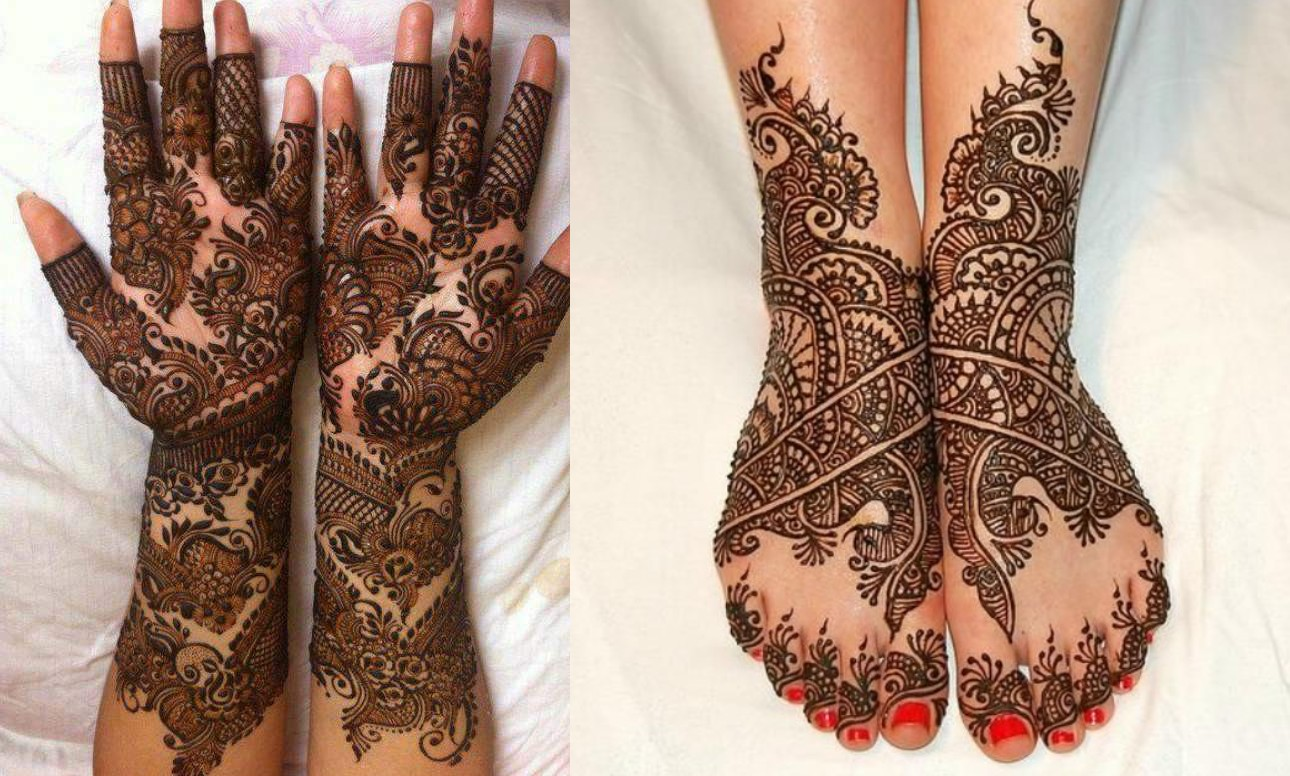 Mehndi Patterns For Legs : Stylish mehndi designs for hand legs k craft