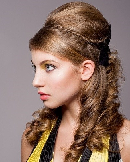Latest-Eid-Hairstyles-2014-For-Girls