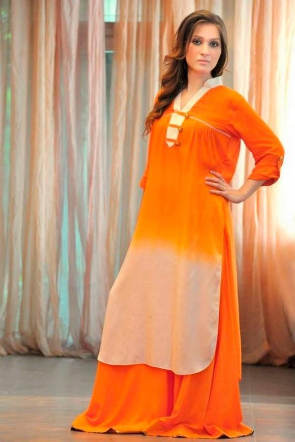 Long-Shirts-Dress-2015-For-Women-With-Palazzo-Pants-600x899