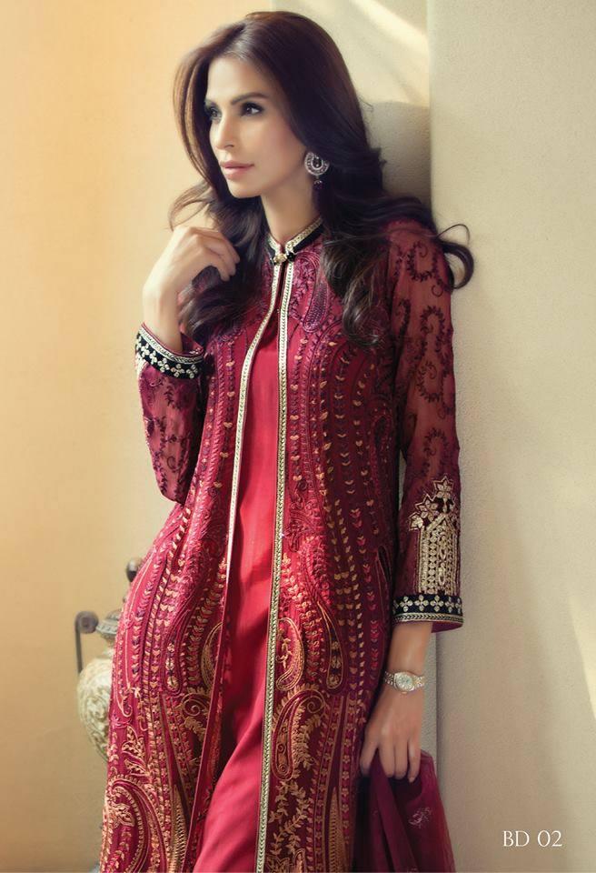 6b53ba800 Beautiful and Elegant Eid Dresses Designs 2016 For Girls - Top Pakistan