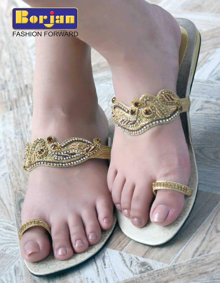 New-Stylish-Borjan-Attractive-Women-Shoes-Eid-Selection-2014