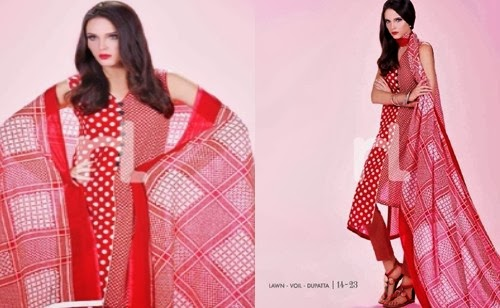 NishatLinen Summer Lawn Collection 2014-2015-0023-www.she-styles.blogspot.com