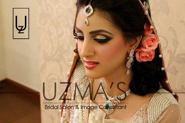 Uzma S Mehndi Makeup : Best valima bridal makeup images