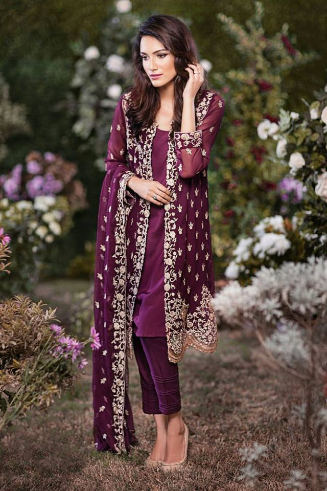 Pakistani-Eid-Collection--Mina-Hassan-Chiffon-Dresses-For-Girls-By-Shariq-Textiles-5