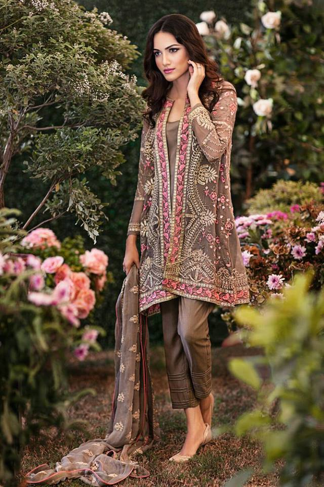 Beautiful And Elegant Eid Dresses Designs 2019 For Girls