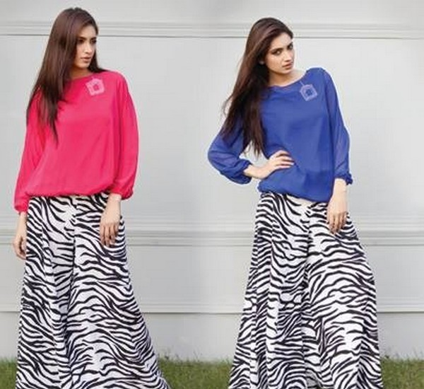 Palazzo-Pants-Trends-For-Women-Fashion-2015-In-this-collection-long-shirts-600x550