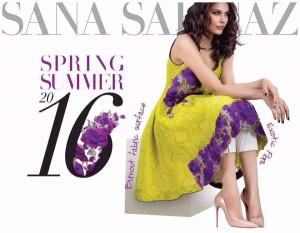 Sana Safinaz 2016 Summer and Spring Collection