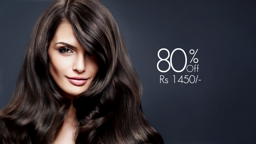 deals at Glow beauty salon and spa lahore
