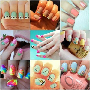 Fancy Nail Art Designs For Eid
