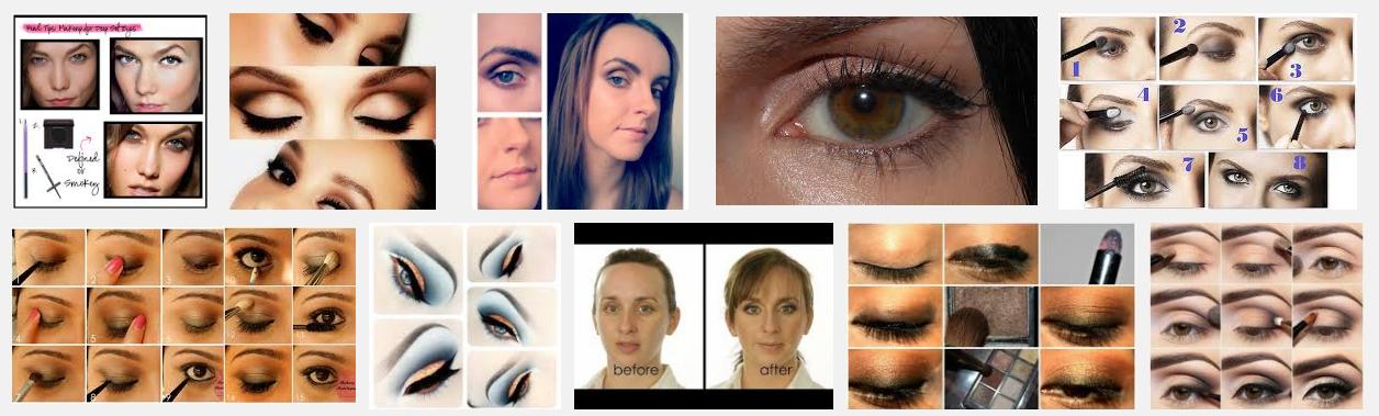 Makeup Deep Set Eyes Tutorial