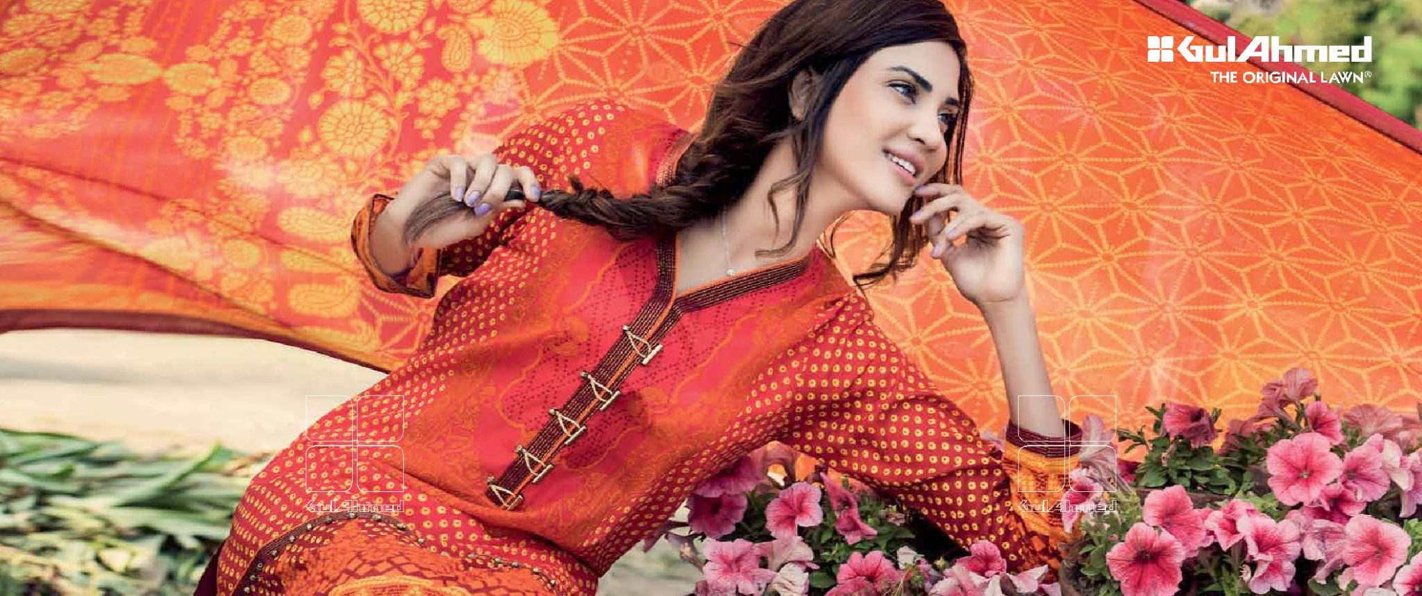 Beautiful Gul Ahmed Lawn Collection 2016 Vol-02