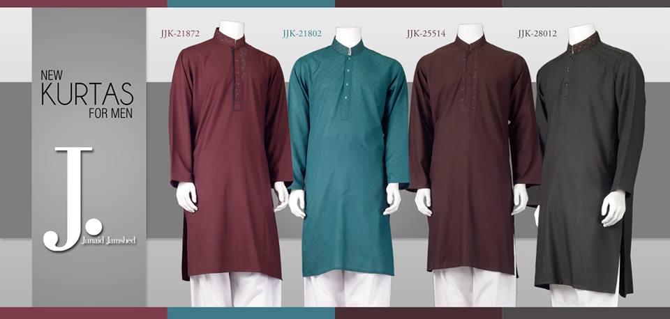 Junaid Jamshed Kurta Designs 2019