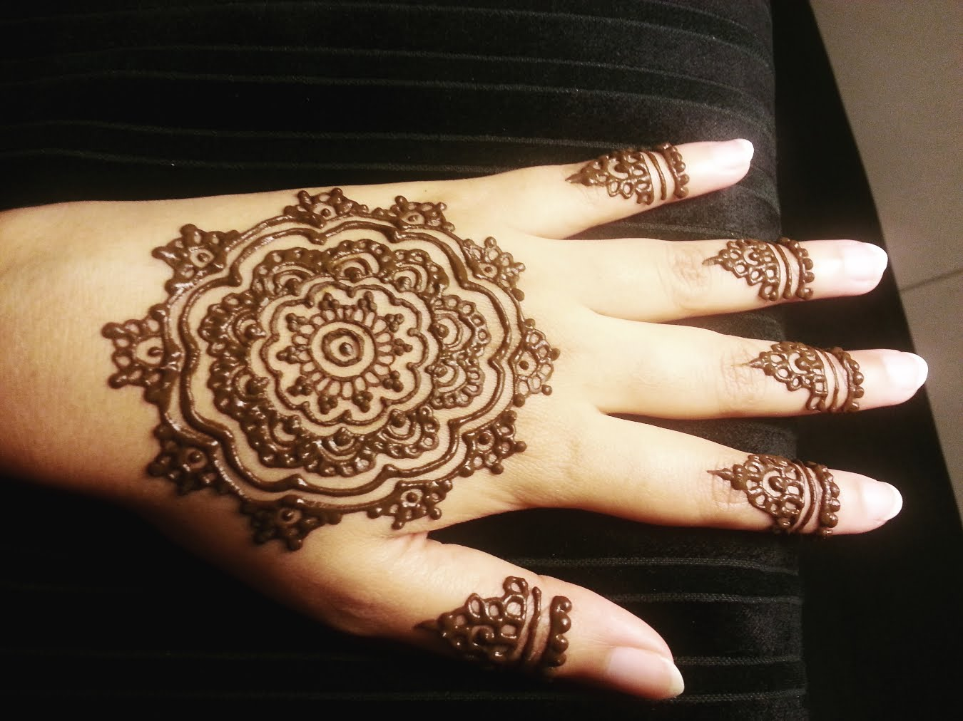 Arabic Mehndi Designs Simple And Easy