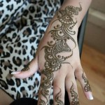 mehndi designs easy 10