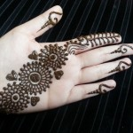 mehndi designs easy 4
