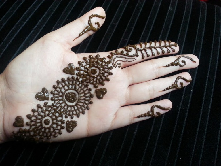 arabic mehndi designs simple and easy   toppakistan
