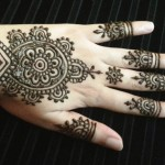 mehndi designs easy 5
