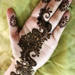 mehndi designs easy 6