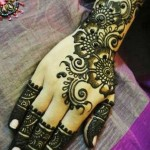 mehndi designs easy 9