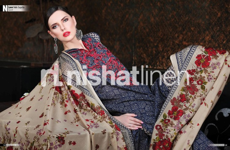 Nishat Linen Summer Collection 2016- The Fabric of Pakistan