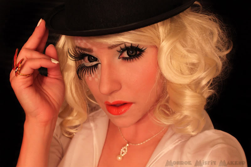 How to Create a Clockwork Orange Eye Makeup