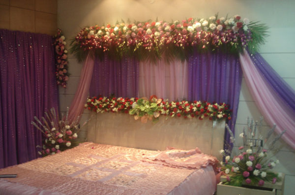 Wedding room decoration ideas in pakistan 2016 top pakistan for Wedding day room decoration