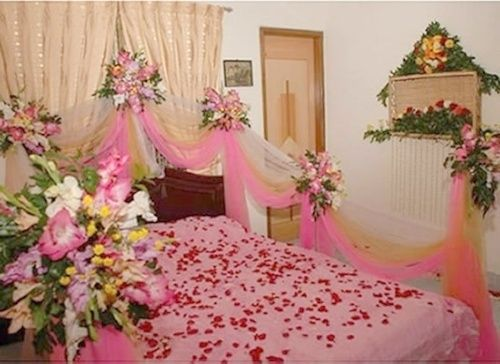 Wedding room decoration ideas in pakistan 2016 top pakistan for Asian wedding bed decoration ideas