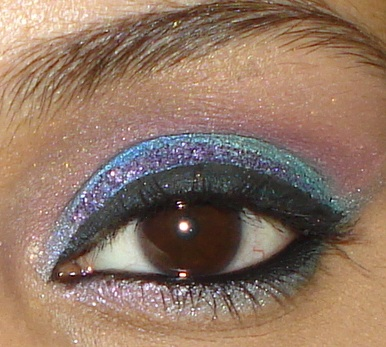 Colorful+Wedding+Party+Eye+Makeup+Tutorial