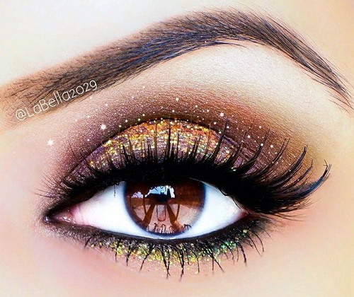 Dramatic Bridal Makeup Brown Eyes : Makeup Tips for Brown Eyes Makeup For Brown Eyes Step by ...