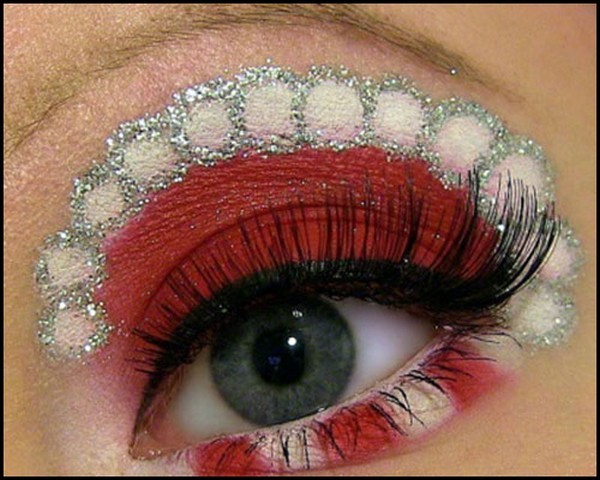 Eye-Makeup-Tutorial-For-Christmas-amp-New-Year-2016-2017