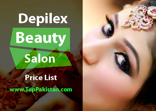 Latest Price List of Depilex Beauty Salon