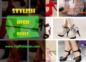 Latest Fashion Trend Of Stylish High Heels In Pakistan 2016