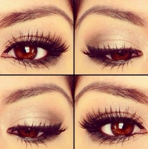 Eye Make Up Tips For Beautiful Brown Eyes